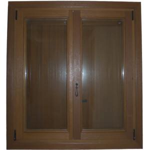 finestra marrone 2 - infissi legno olbia