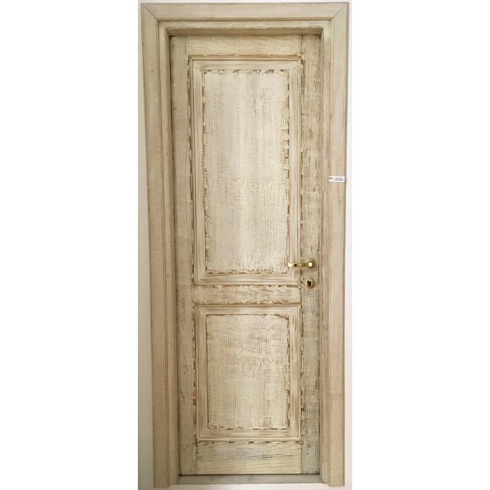 porta interna artigianale in legno olbia