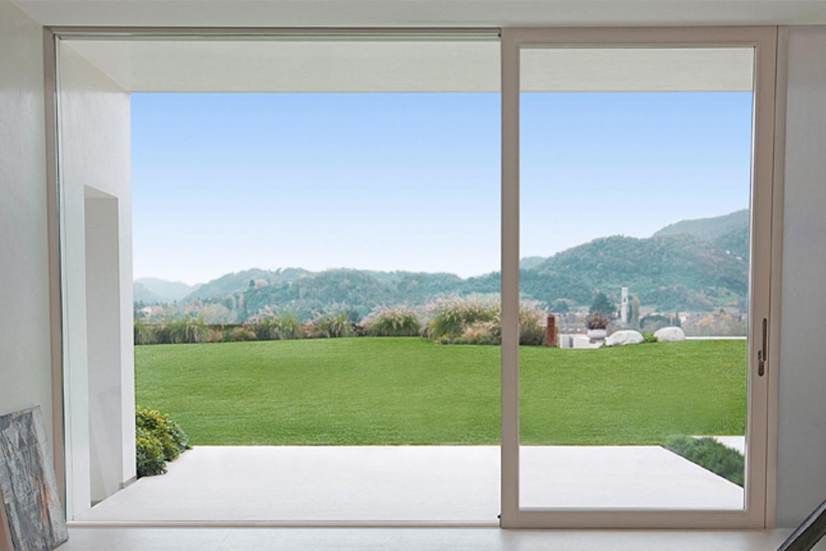 Infissi minimal finestre e scorrevoli a telaio ridotto - Finestre e infissi ...
