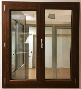 infissi - finestra nera pvc