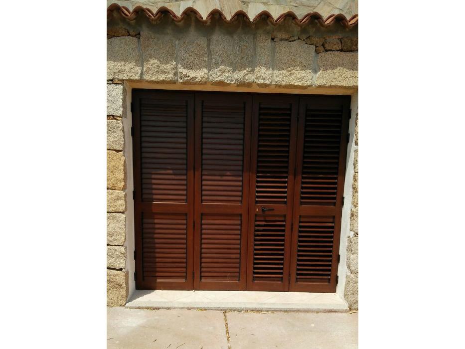persiana per porta finestra doppia anta