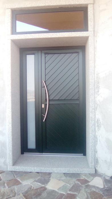 porta ingresso in pvc